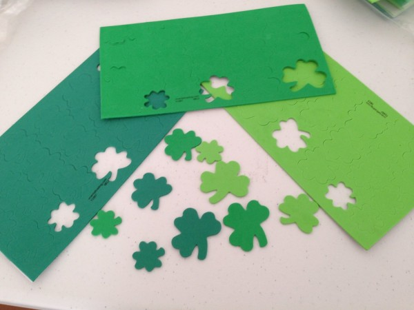 shamrock foam shapes
