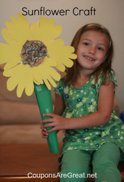 Sunflower-Craft-for-kids