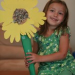 Create Sunflower Flowers with this Sunflower Craft
