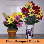 Crafty Tuesday: Create a Photo Bouquet