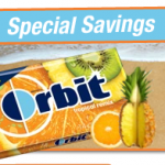Buy One Get One Free Orbit Gum Printable!