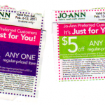 JoAnn Home Mailers: $5/$5 Coupons!