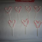 Crafty Tuesday: Candy Cane Heart Lollipops