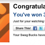 Swagbucks: An Easy 5 Points Per Day