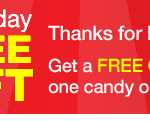 CVS Freebie: Candy or Beverage!