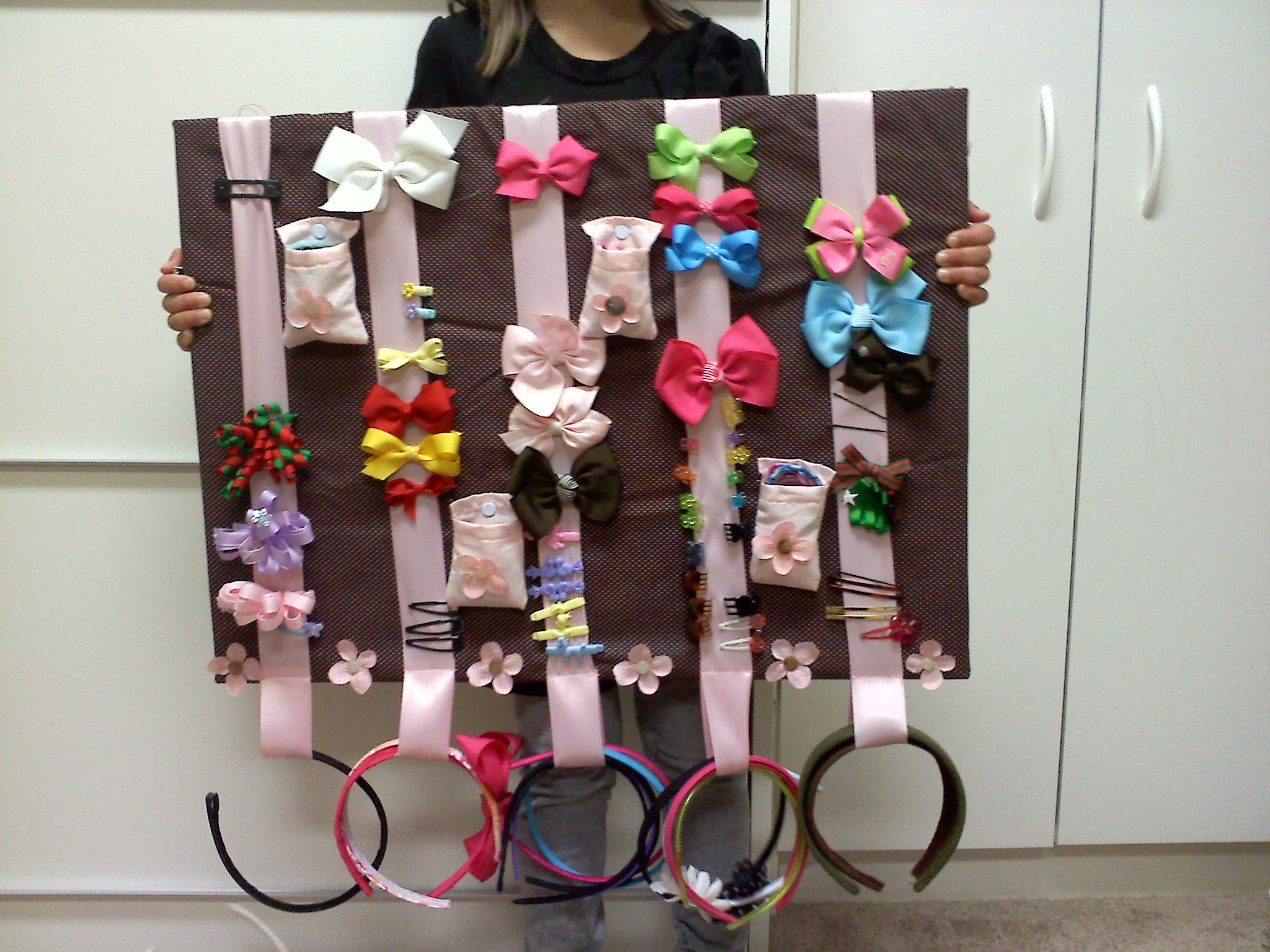 Hair Accessories Wall Hanging Organizer