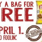 Kroger: Free Frito-Lay Chips (04/01)