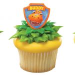 dinosaur train cupcake toppers