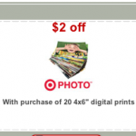 20 Free 4×6 Photos at Target!