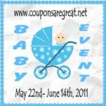 Baby Event Reviews and Giveaways:  It's almost time!!