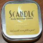 Scandle Body Massage Candle Review & Giveaway (closed)
