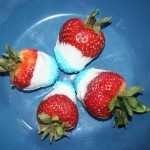 Crafty Tuesday: Patriotic Strawberries (Plus Vanilla Covered Raisins)