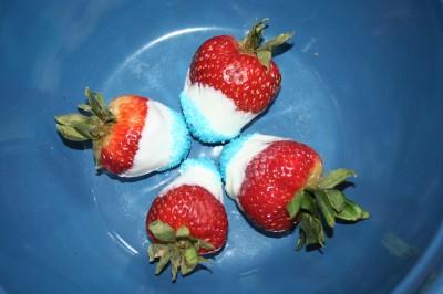 Patriotic Strawberries 732