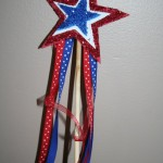 Crafty Tuesday: Star Spangled Wand