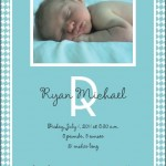 Ryan's Birth Announcement