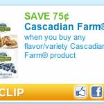 New Coupons! Cascadian Farms, Gerber Graduates, Honey Nut Cheerios, Larabar, and More!