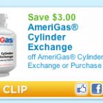 $3 AmeriGas Propane Cylinder Exchange Coupon Plus Mail In Rebate
