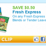 Produce Coupon Alert: Save 50¢ on Fresh Express Blends or Tender Leaves