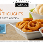 Rate an Alexia Product Get a Coupon for $1.50 Off!