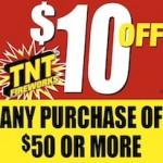 Printable TNT Fireworks Coupon