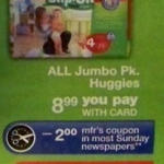 Huggies Slip on CVS Deal