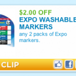 New Expo Marker Coupon Plus Free Deal at Walgreens!