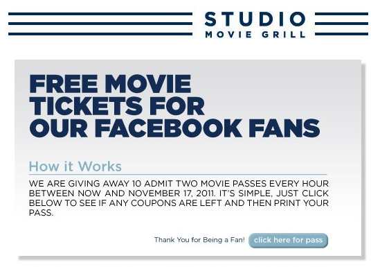Movie pass coupon code