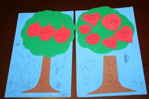 Grandparents Day Tree Card 984