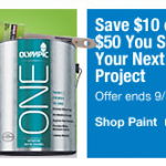 Lowes Labor Day Paint Sale