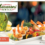 Get a $50 Macaroni Grill Gift Card for Only $40