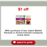 Target Fruit Strips coupon