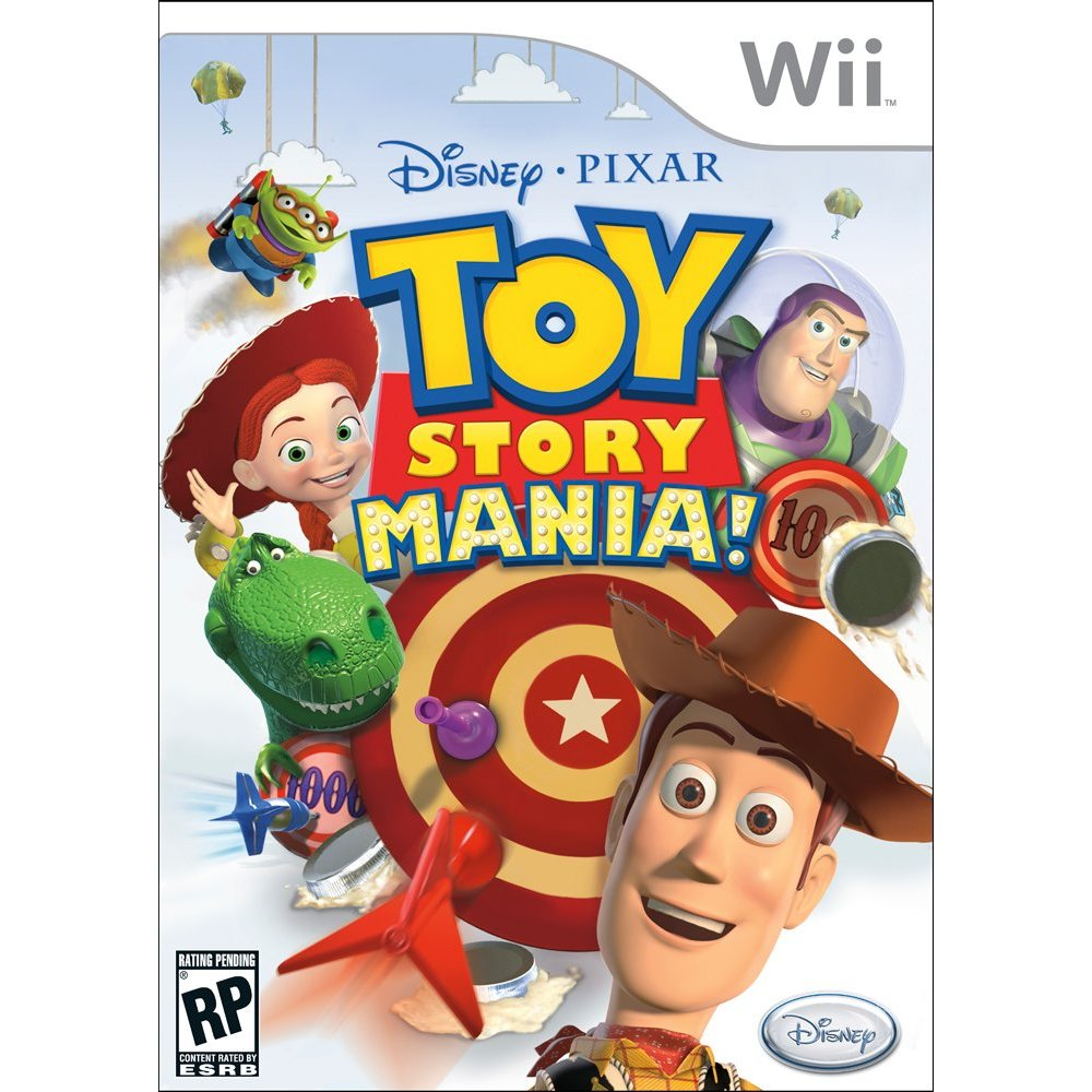 Toy Story Mania For The Wii Only $9.99 At Amazon