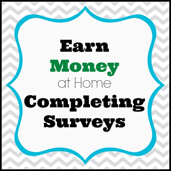 Earn money at home completing surveys. Here is a great list of ...