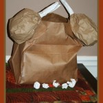 paper bag turkey with stuffing