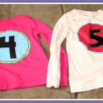 Put a Number on it!: Custom Birthday Shirts Tutorial