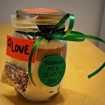Homemade Present Idea: Brownies in a Jar