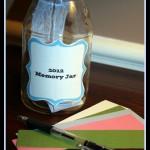 Crafty Tuesday: Create a 2012 Memory Jar