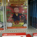 Two Curious George DVDs for $6.50