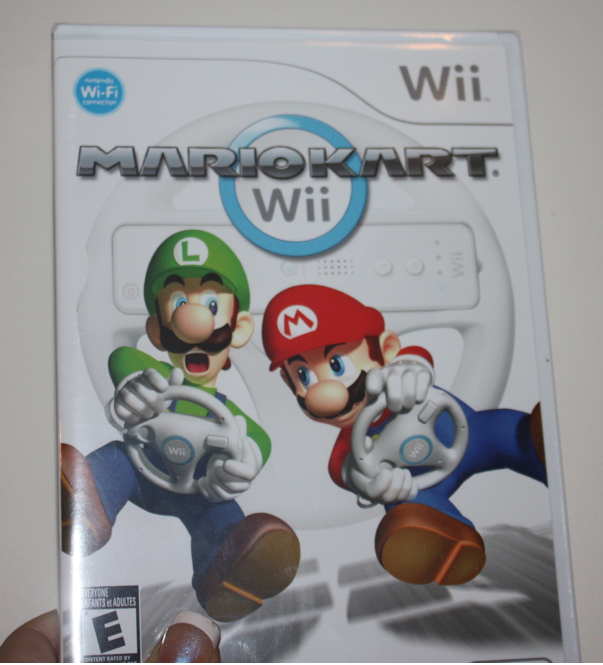 Mario Kart Wii Game Giveaway (closed