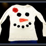 Crafty Tuesday: Snowman or Snowgirl Shirt Craft Tutorial