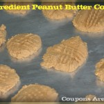 Three Ingredient Peanut Butter Cookies to Celebrate National Peanut Butter Day