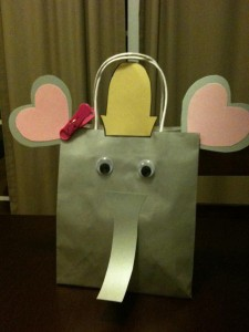 dumbo birthday party bag