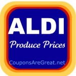 Aldi Supermarket Produce Prices: Through October 31