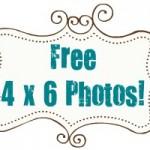 Free 4 x 6 photos