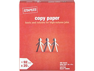 Staples-Copy-Paper
