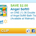 Great Deal Alert: Angel Soft Toilet Paper Only 21¢ Per Roll at Walmart
