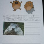 groundhog day by kindergartener