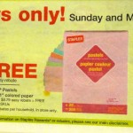 Staples 2 Day Freebies March 4th and 5th: Copy Paper, Pastel Paper, Photo Paper