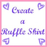 create a ruffle skirt