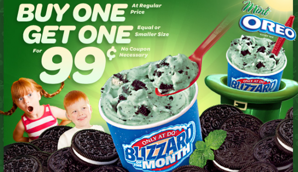 dairy queen 99¢ coupon